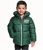 Детская куртка зима-осень для мальчика