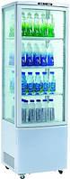 Шкаф-витрина холодильная EWT INOX RT 280L