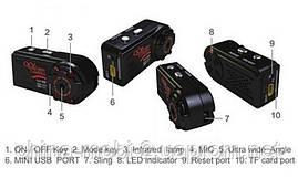 Мини камера регистратор dv dvr QQ6, качество HD 1080p с ночной подсветкой и датчиком движения, фото 2