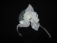 Свадебный цветок для гостей № 1 (белые)
