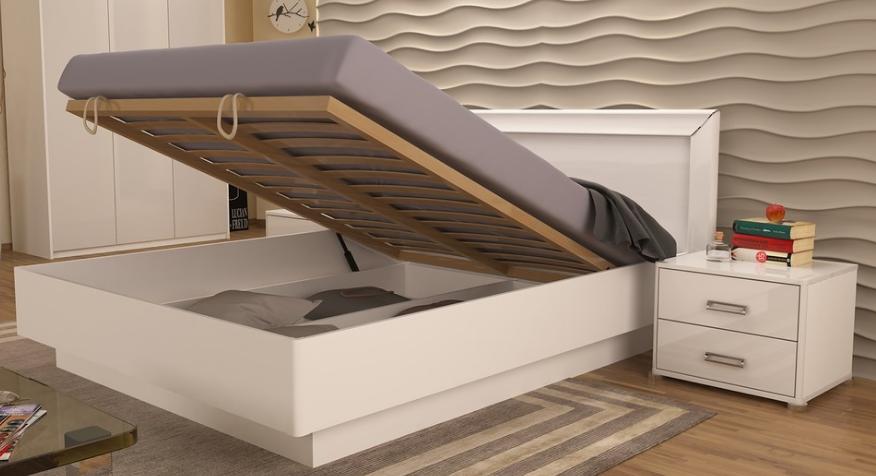 Кровать Белла 180 с каркасом MiroMark