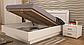 Белла кровать 160 профиль с мягкой спинкой и каркасом Миро Марк, фото 3