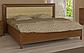 Белла кровать 160 профиль с мягкой спинкой и каркасом Миро Марк, фото 4