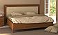 Белла кровать 160 профиль с мягкой спинкой и каркасом Миро Марк, фото 5