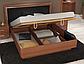 Белла кровать 160 профиль с мягкой спинкой и каркасом Миро Марк, фото 6