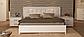 Белла кровать 160 профиль с мягкой спинкой и каркасом Миро Марк, фото 2