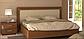 Белла кровать 160 профиль с мягкой спинкой и каркасом Миро Марк, фото 8