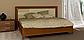 Белла кровать 160 профиль с мягкой спинкой и каркасом Миро Марк, фото 9