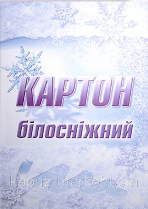 Картон білий Лунапак, А4, 10л.