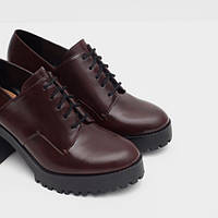 Ботинки на шнурках ZARA оригинал с Испании, фото 1