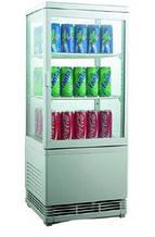 Шкаф-витрина холодильная EWT INOX RT 58L