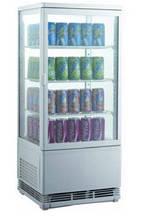 Шкаф-витрина холодильная EWT INOX RT 68L