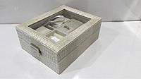 Шкатулка для ювелирных изделий  с прозрачной крышкой, фото 1