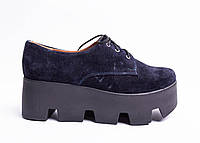 Туфли из натуральной замши №359-4, фото 1
