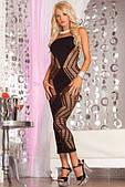 Pink Lipstick - Платье Zig-zag-zig seamless dress Black