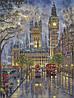 Картина по номерам «Идейка» (КНО1151) Лондон. Вестминстерский дворец (Роберт Финале), 40x50 см