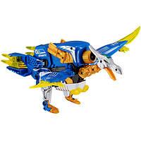 Динобот-трансфотмер Птерозавр 2в1 бластер+динозавр