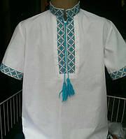 Рубашка школьная для мальчика. Вышиванка.