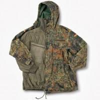 Куртка (парка) с синтипоновм утеплителем армии Германии, камуфляж Flektarn