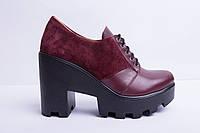 Туфли из натуральной кожи №356-4, фото 1