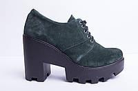 Туфли из натуральной замши №356-6, фото 1