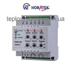 Трехфазное реле напряжения и контроля фаз РНПП - 301 Новатек Электро (Украина)