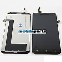 Оригинальный  дисплей (модуль) + сенсор (тачскрин) для Lenovo S580 (Черный)