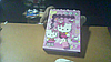 Блокнот с замком Hello kitty