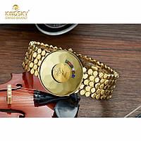 Часы женские Kingsky brand с камнями - неотразимый дизайн