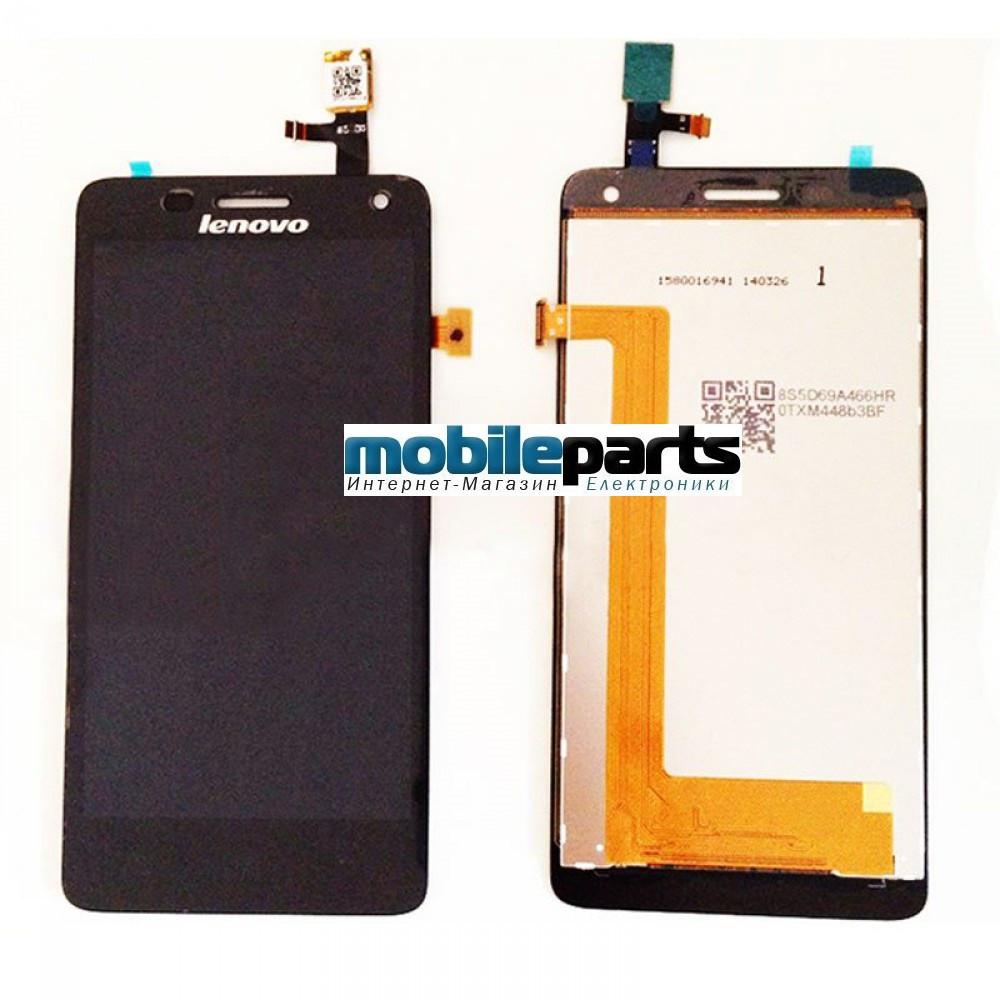 Оригинальный дисплей (модуль) + сенсор (тачскрин) для Lenovo S660  (Черный)