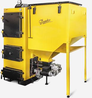 Промышленные котлы на пеллетах Данко 100 ТЕМ с автоматической подачей топлива
