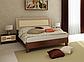 Кровать двуспальная Виола 160 с каркасом MiroMark, фото 4