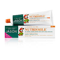 Зубная паста для защиты эмали Nutrismile® против кариеса с коэнзимом Q Jason (США)