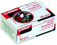 Кнопки NORMA 4839 50шт кольорові (1/10/1000) 81460 Ч