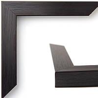Рамка А2 42х60  ширина багета 22 мм, цвет тёмный венге, багет 2216-86