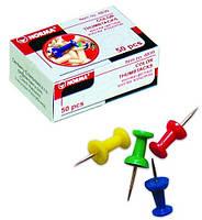 Кнопки NORMA 4840 30шт цвяшки кольорові (1/10/500) 81461 Ч
