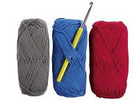 Нитки для вязания крючком