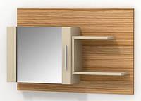 Консоль Сахара зеркало с боковыми полками