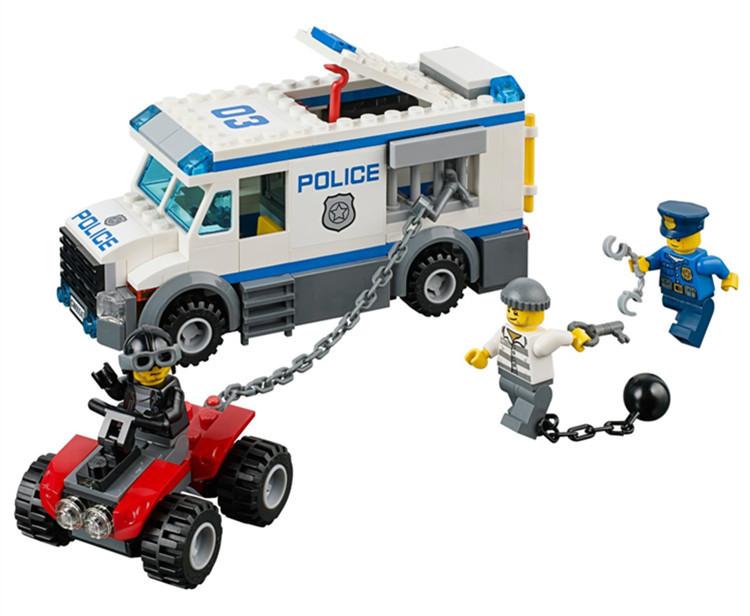 Конструктор Bela 10418 Urban Полиция Перевозка заключенного