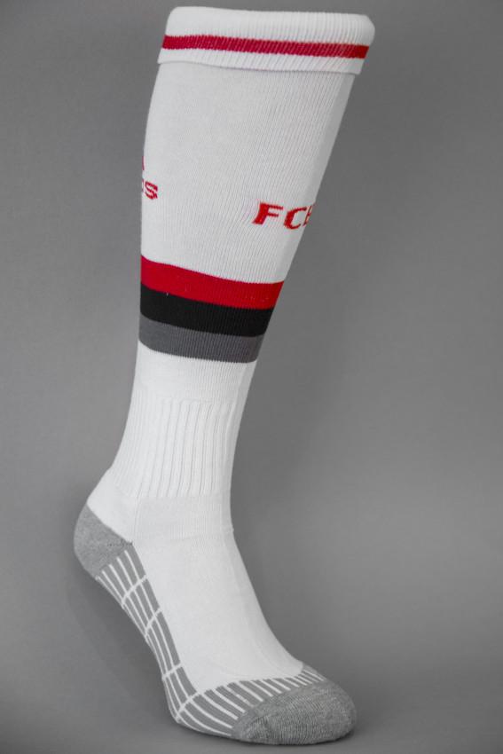 Гетры футбольные Adidas ФК Бавария Мюнхен (FC Bayern Munchen) белые, фото 1