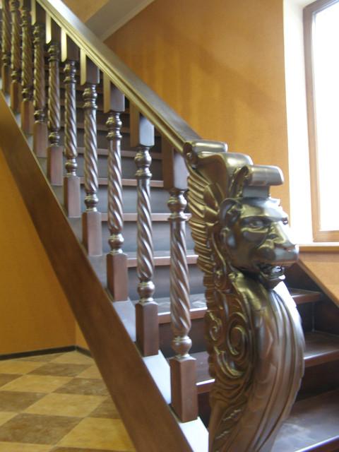 Сходи дерев'яні за індивідуальними проектами