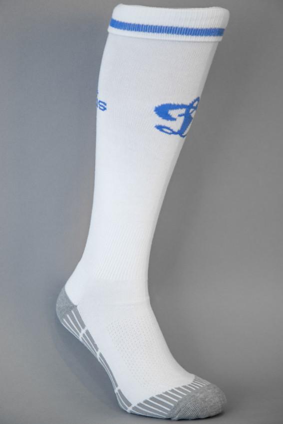 Гетры футбольные Adidas ФК Динамо Киев белые, фото 1