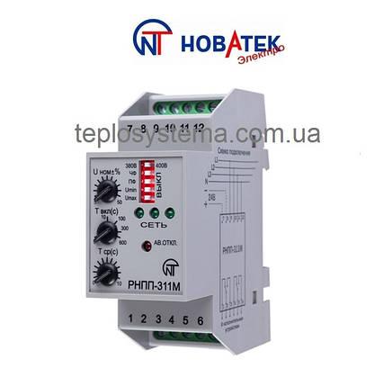 Трехфазное реле напряжения и контроля фаз  РНПП - 311М Новатек Электро (Украина), фото 2