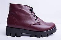 Ботинки из натуральной кожи №35-1, фото 1