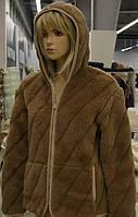 Куртка с капюшоном из верблюжьей шерсти