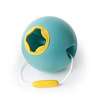 """Сферическое ведро """"BALLO"""" (цвет зеленый+желтый)"""