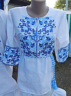 "Жіноча вишита блузка ""Дзвоник"" , фото 1"