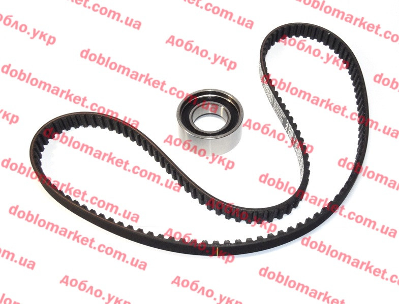 Комплект ГРМ 1.2i 8v Doblo 2000-2005  (ремень+ ролик) (OPAR), Арт. 71773284, 71736718, 71773284, FIAT