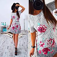 Платье трапеция 33006