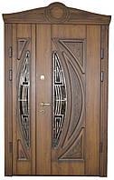 Двери входные со стеклом модель 2